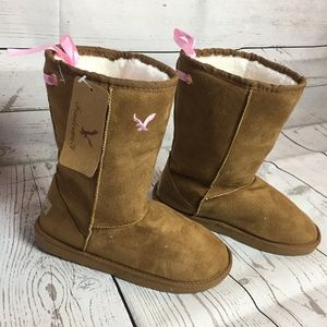 Brown Women's Warm Winter Short Boots